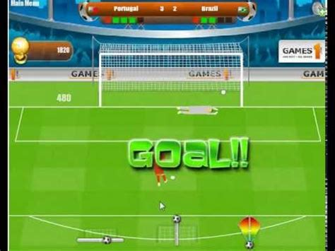 WORLD CUP PENALTY 2010 GAMES   KIZI GAMES   YouTube