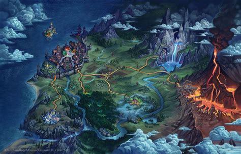 World map by gugu troll.deviantart.com on @deviantART ...