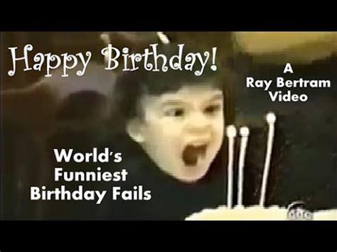 World s Funniest Birthday Fails  Happy Birthday    YouTube