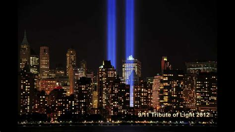 World Trade Center 9/11 Tribute of Light 2012 HD   YouTube