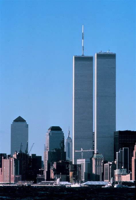 World Trade Center Before 9/11  NOAA/unidentified fotog ...