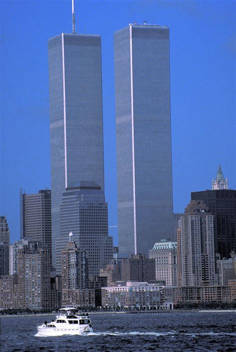World Trade Center Before 9/11 Photograph by Carl Purcell