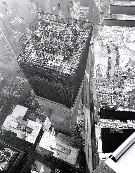 World Trade Center Tower One under construction, c.1971 ...