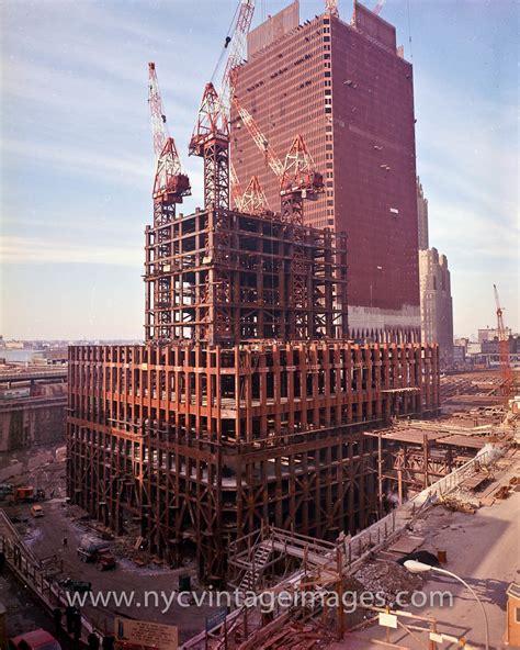 World Trade Center | World Trade Center under construction ...