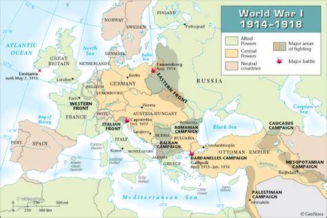 World War I : Causes – Timeline – Definition – Quizzes ...