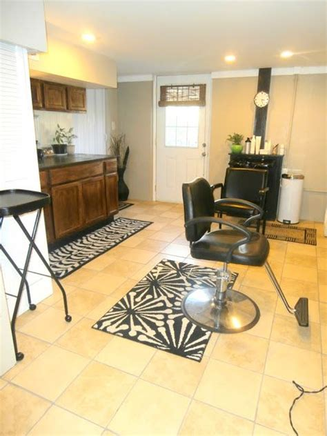 Would love to make a basement into a little salon so I can ...