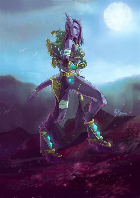 WoW: Narannach the Draenei Huntress by ryumo.deviantart ...