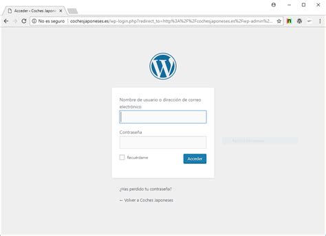wp admin y wp login.php de WordPress