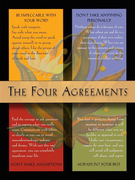 Writing I Love   The Four Agreements | Tom McCallum