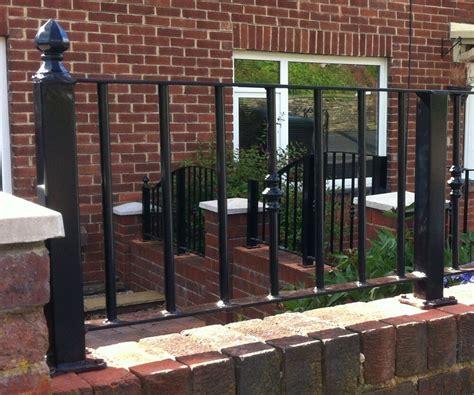 wrought iron railings metal garden fence | eBay