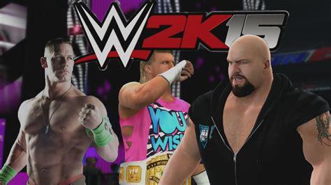 WWE 2K15 Gameplay en PS4    TLC , Probando el Juego de ...