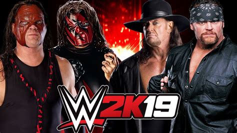 WWE 2K19 Demon Kane and Masked Kane vs The Undertaker and ...
