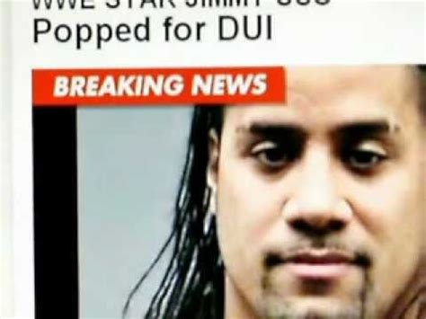 WWE Star Jimmy USO Arrested For DUI This Morning in Tampa ...