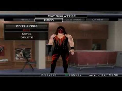 WWE SVR 11 KANE CAW FORMULA HD BY LILDAVY1   YouTube