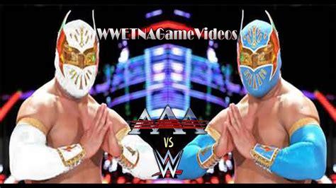 WWE vs. AAA Lucha Libre   SIN CARA vs. MYZTEZIZ   WWE 2K15 ...