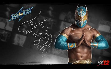WWE Wrestling: WWE 12 Sin Cara Cover Pictures