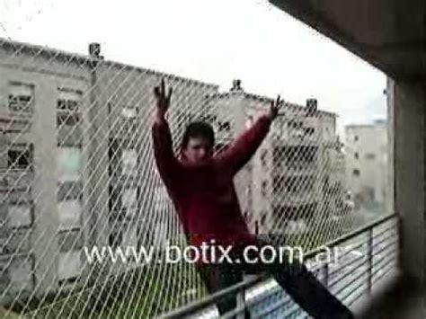 www.botix.com.ar Protección para balcón con red   YouTube