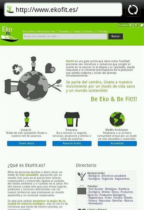 www.ekofit.es Proyecto: • Web informativa. • Directorio ...