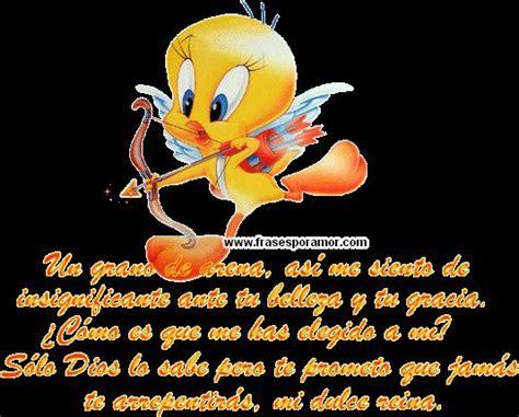 www.frasesporamor.com frase de amor con dibujo piolin ...