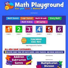 www.Mathplayground.com   Welcome to Math Playground