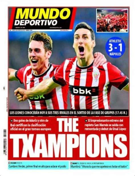Xabi al Bayern, el Athletic es de Champions: Las portadas ...