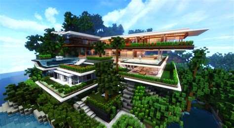 Xalima   Modern Architectural Concept House Minecraft Map