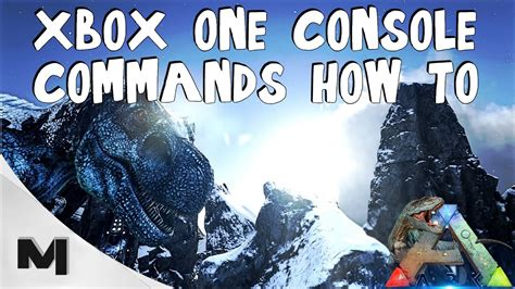 XBOX ONE CONSOLE COMMANDS !   ARK: Survival Evolved   YouTube