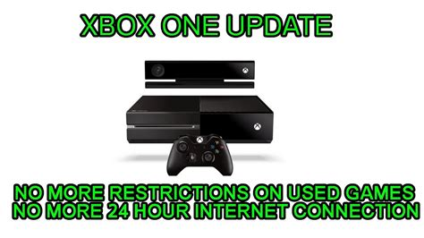 Xbox One New Policy No more restrictions on used games and ...