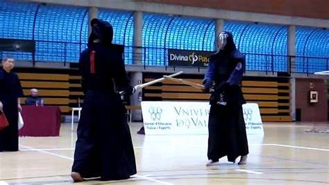XII Open Kendo Universidad de Valencia Final Masculina ...