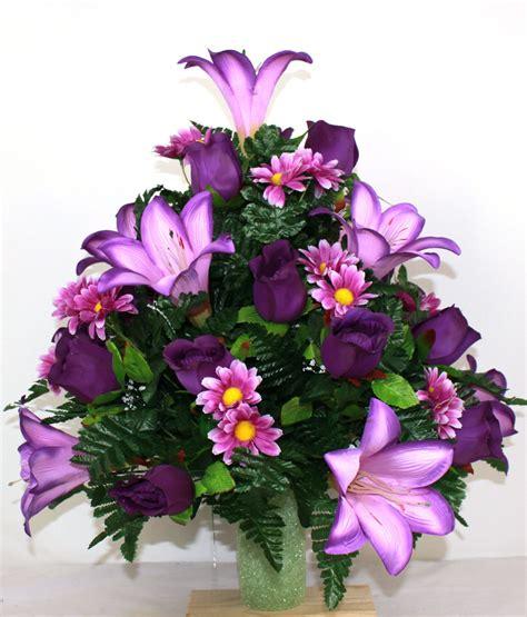 XL Beautiful Spring Cemetery Flower Arrangement for a 3 ...