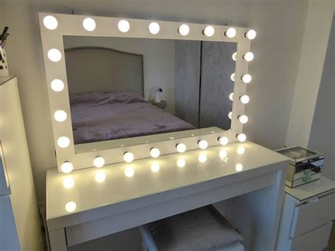 XL Hollywood vanity mirror  43x27     makeup mirror with ...