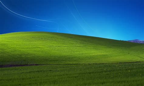 XP Bliss with Windows 7 sky by NhatPG on DeviantArt