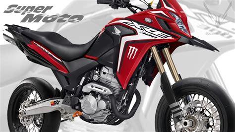 XRE 300 Super Moto | 2020 Conceito | SuperMotard Honda XRE ...