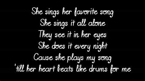 XV   Her Favorite Song Lyrics   YouTube