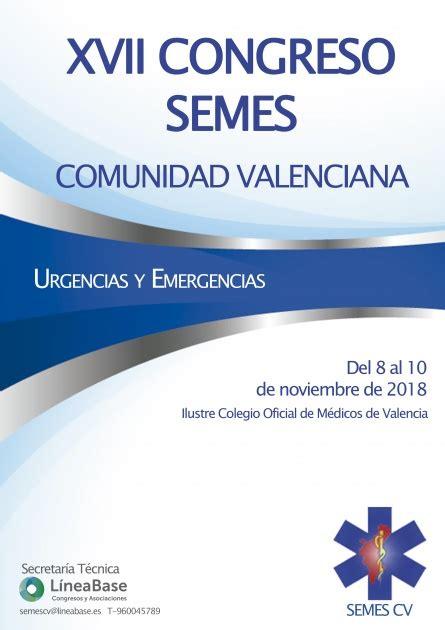 XVII Congreso SEMES Comunidad Valenciana – Colegio Oficial ...