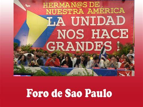 XXV Encuentro del Foro de Sao Paulo: Caracas 25 a 28 de ...