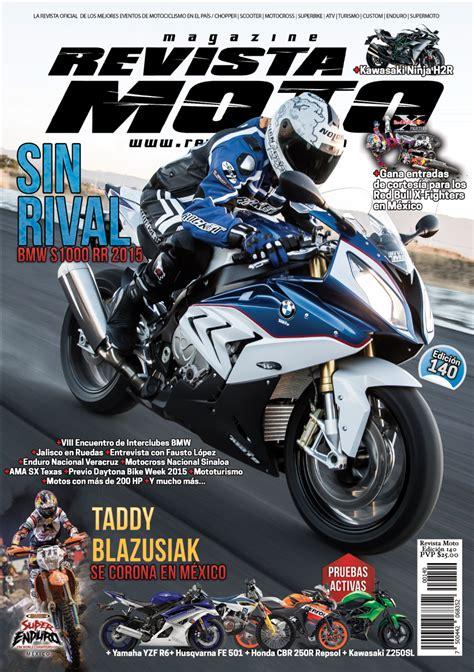 Ya está lista la edición 140 de tu Revista Moto – Revista Moto