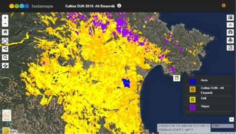 Ya se puede consultar el mapa de cultivos de Cataluña ...