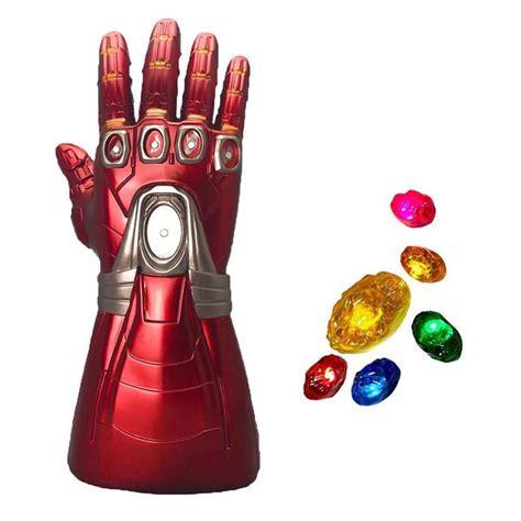 Yacn Guantelete del Infinito traje de guante Iron Man ...