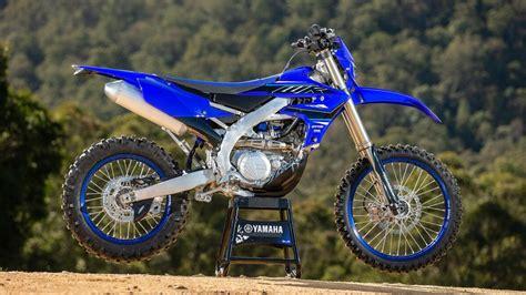 Yamaha 2021 de enduro: Novedades en la WR450F   Motos Mas