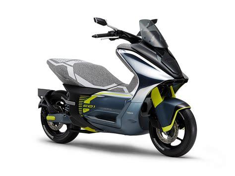 Yamaha dévoile deux scooters électriques équivalents 50cc ...