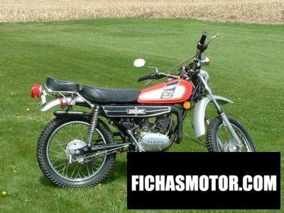 Yamaha dt 125 e 1975 | FICHA TÉCNICA y ESPECIFICACIONES