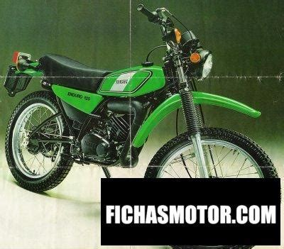 Yamaha dt 125 e 1976 | FICHA TÉCNICA y ESPECIFICACIONES