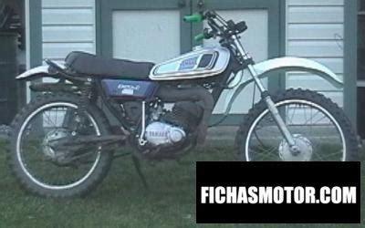 Yamaha dt 125 e 1978 | FICHA TÉCNICA y ESPECIFICACIONES