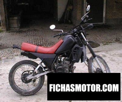 Yamaha dt 125 lc 1982 | FICHA TÉCNICA y ESPECIFICACIONES