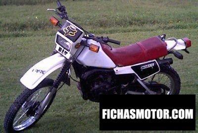 Yamaha dt 125 lc 1984 | FICHA TÉCNICA y ESPECIFICACIONES