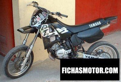 Yamaha dt 125 r 1992 | FICHA TÉCNICA y ESPECIFICACIONES
