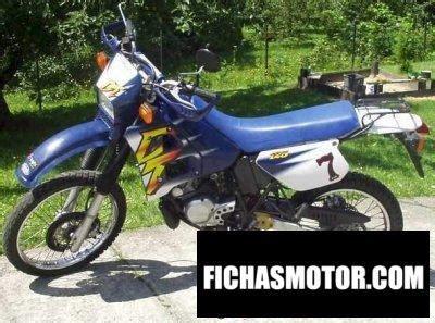 Yamaha dt 125 r 1997 | FICHA TÉCNICA y ESPECIFICACIONES