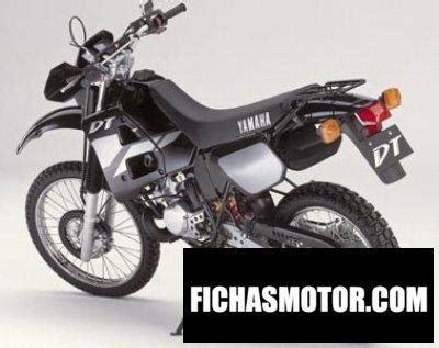 Yamaha dt 125 r 2001 | FICHA TÉCNICA y ESPECIFICACIONES