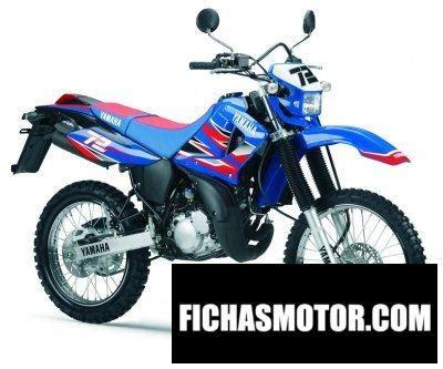 Yamaha dt 125 r mx everts 2006 | FICHA TÉCNICA